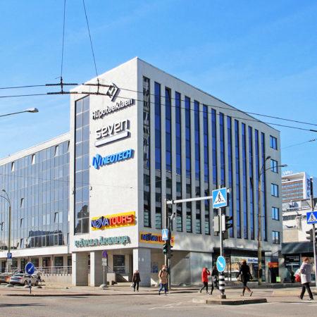 Tallinna Kaubamaja Rävala puiesteelt hetkel
