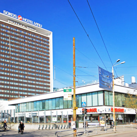 Viru keskus Estonia puiesteelt hetkel